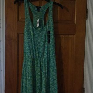 Gap multi maxi dress